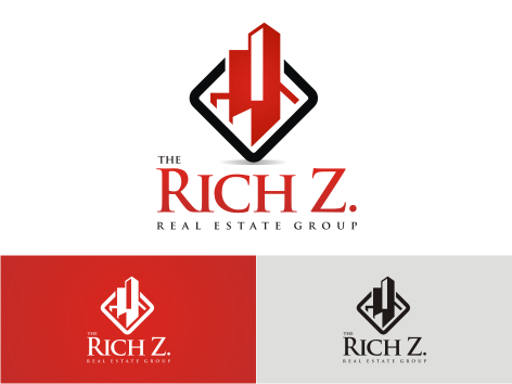 Logo Design by key - Entry No. 230 in the Logo Design Contest The Rich Z. Real Estate Group Logo Design.