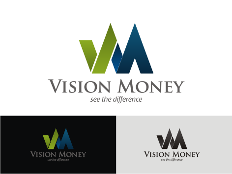 Logo Design by key - Entry No. 55 in the Logo Design Contest Captivating Logo Design for VISION MONEY.