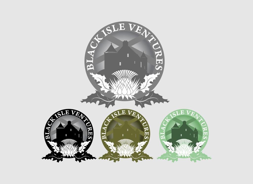 Logo Design by Crispin Jr Vasquez - Entry No. 26 in the Logo Design Contest Creative Logo Design for Black Isle Ventures.