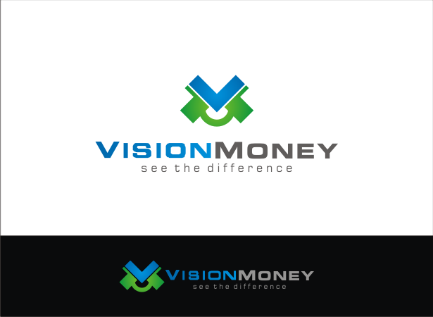 Logo Design by Armada Jamaluddin - Entry No. 58 in the Logo Design Contest Captivating Logo Design for VISION MONEY.