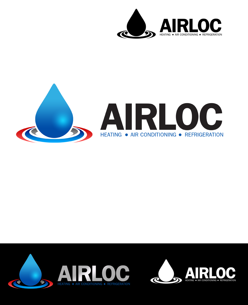 Logo Design by Private User - Entry No. 202 in the Logo Design Contest Airloc Logo Design.