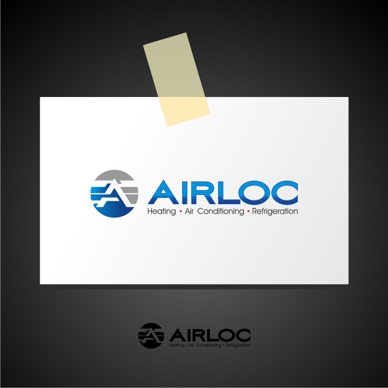 Logo Design by graphicleaf - Entry No. 205 in the Logo Design Contest Airloc Logo Design.
