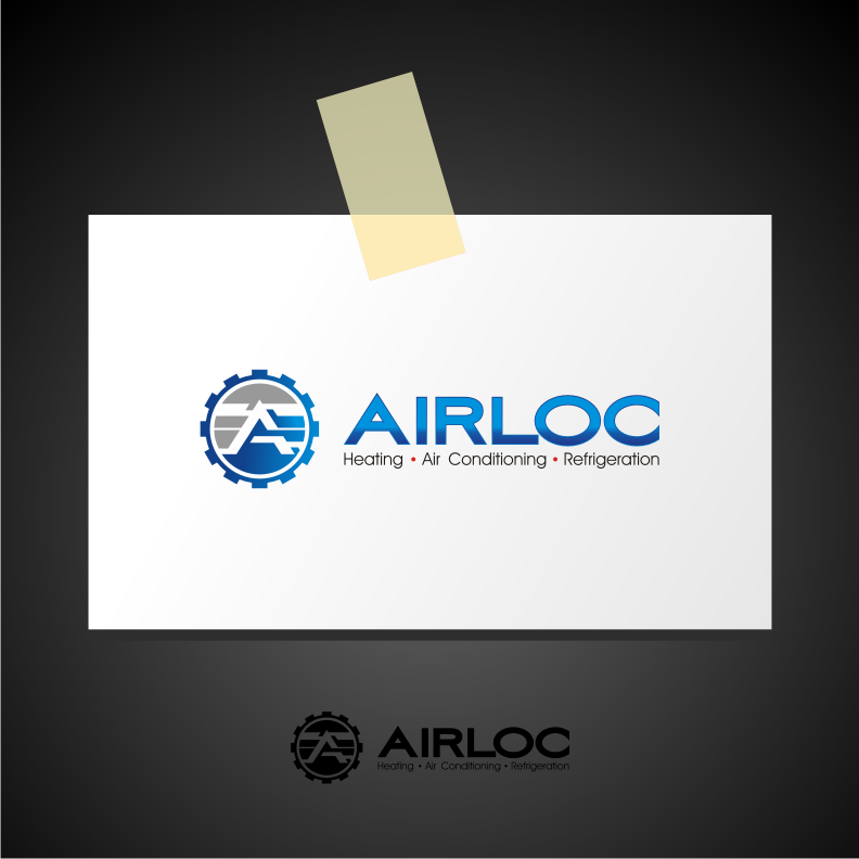 Logo Design by graphicleaf - Entry No. 210 in the Logo Design Contest Airloc Logo Design.
