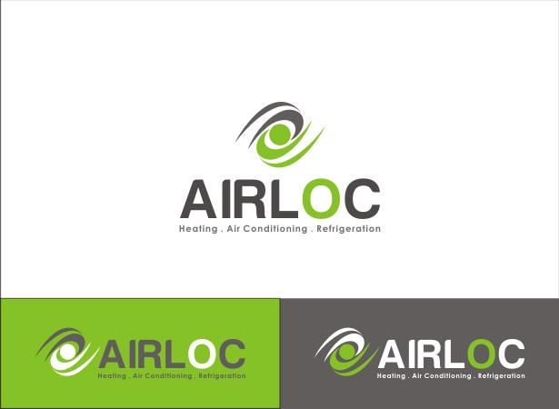 Logo Design by Armada Jamaluddin - Entry No. 211 in the Logo Design Contest Airloc Logo Design.