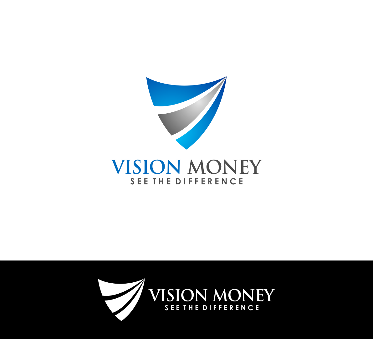 Logo Design by haidu - Entry No. 64 in the Logo Design Contest Captivating Logo Design for VISION MONEY.