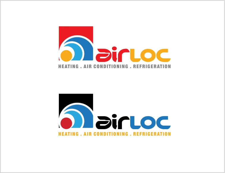 Logo Design by Private User - Entry No. 219 in the Logo Design Contest Airloc Logo Design.