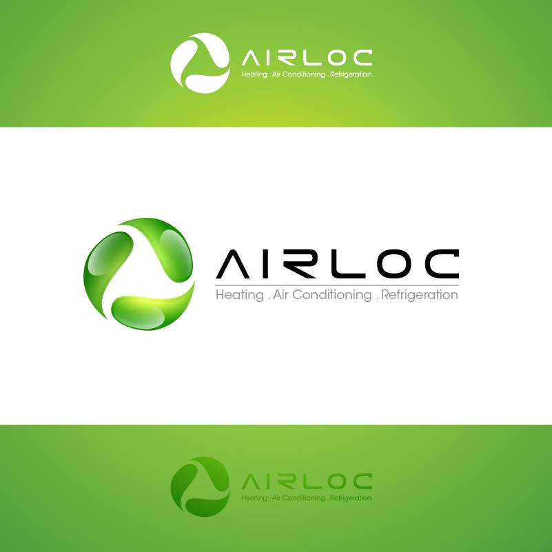 Logo Design by chinie05 - Entry No. 223 in the Logo Design Contest Airloc Logo Design.