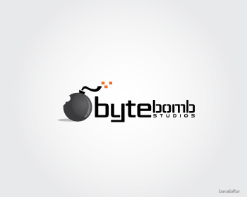 Logo Design by Private User - Entry No. 7 in the Logo Design Contest Captivating Logo Design for ByteBomb Studios.