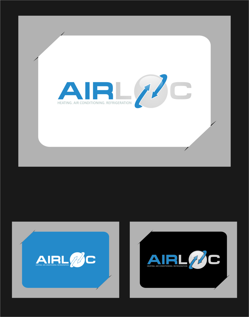 Logo Design by Ngepet_art - Entry No. 230 in the Logo Design Contest Airloc Logo Design.