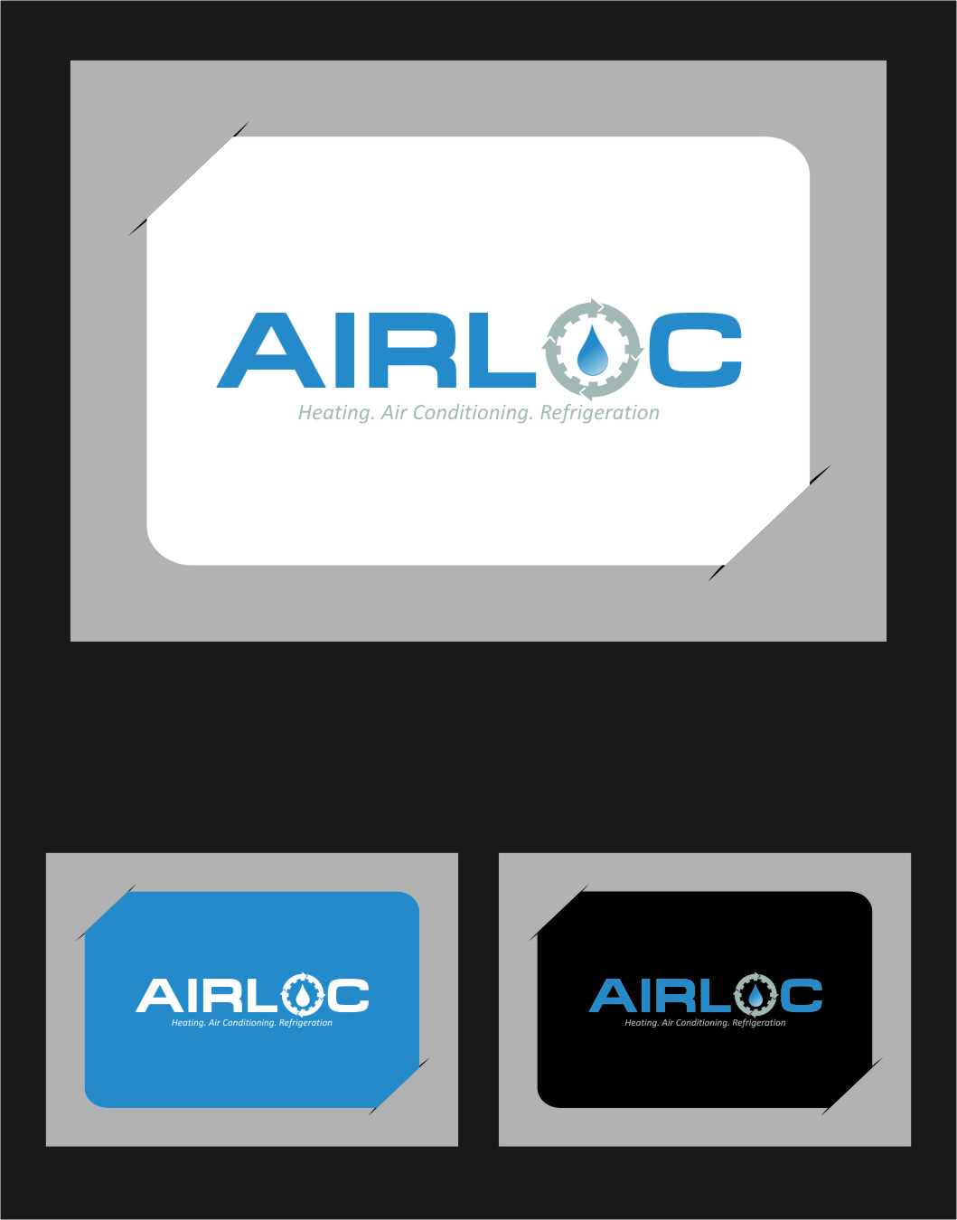 Logo Design by RasYa Muhammad Athaya - Entry No. 233 in the Logo Design Contest Airloc Logo Design.