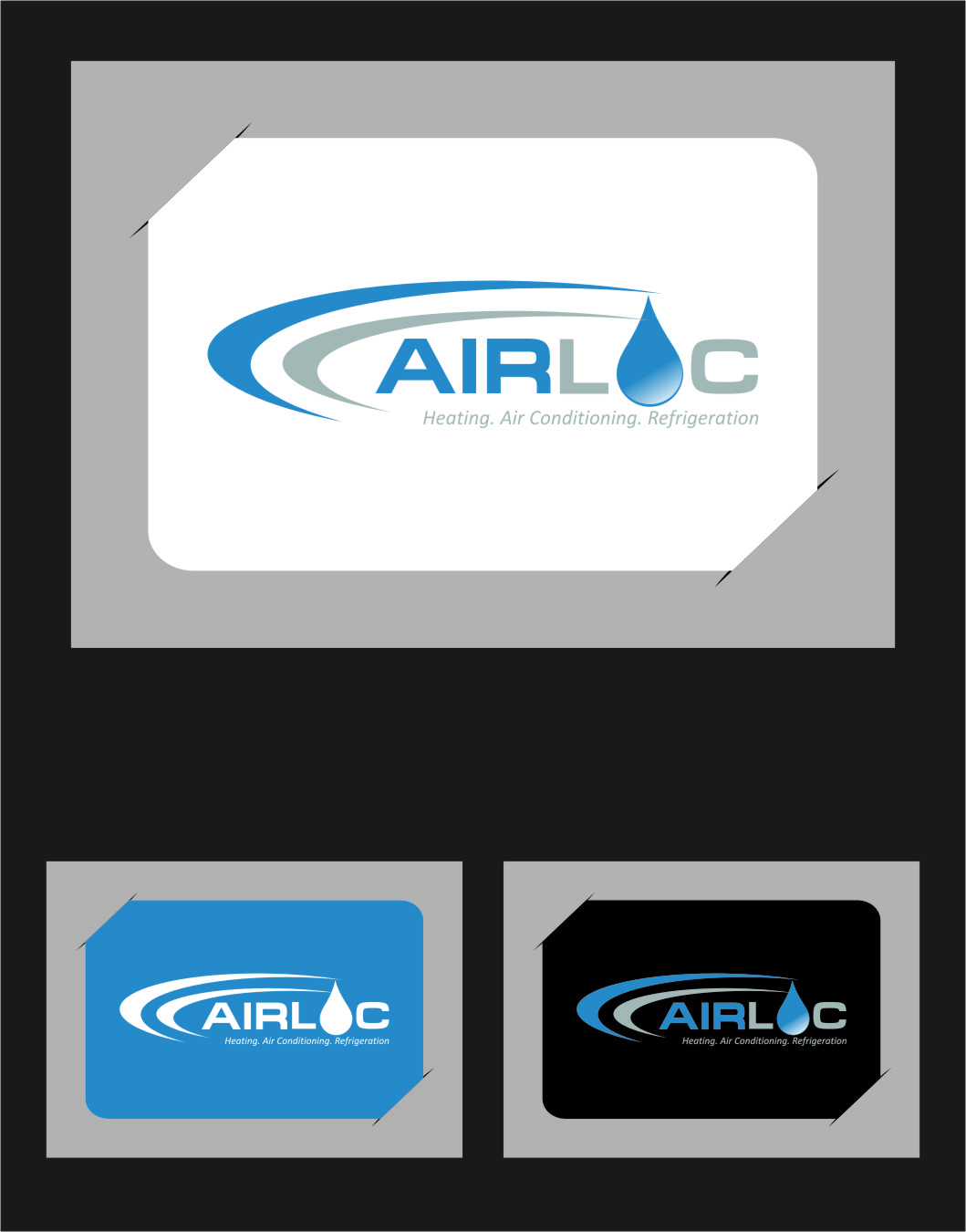 Logo Design by Ngepet_art - Entry No. 236 in the Logo Design Contest Airloc Logo Design.
