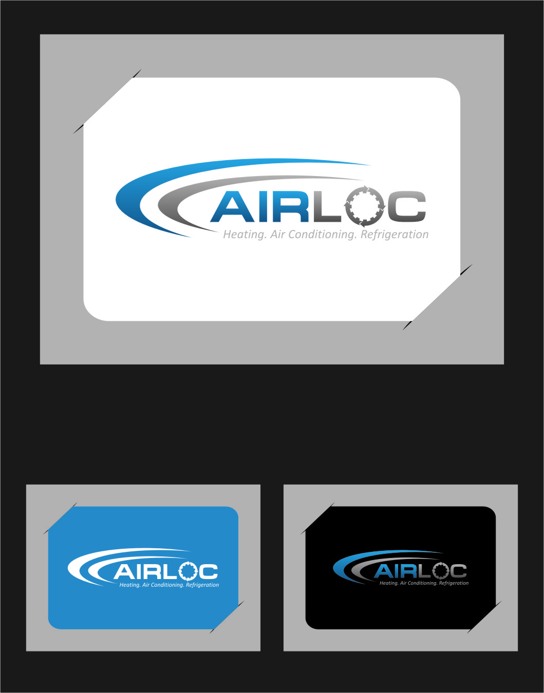 Logo Design by Ngepet_art - Entry No. 237 in the Logo Design Contest Airloc Logo Design.