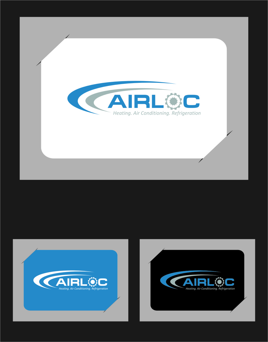 Logo Design by RoSyid Rono-Rene On Java - Entry No. 238 in the Logo Design Contest Airloc Logo Design.
