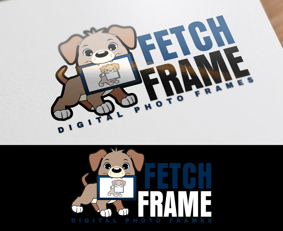 Logo Design by Juan_Kata - Entry No. 41 in the Logo Design Contest New Logo Design for FetchFrame.