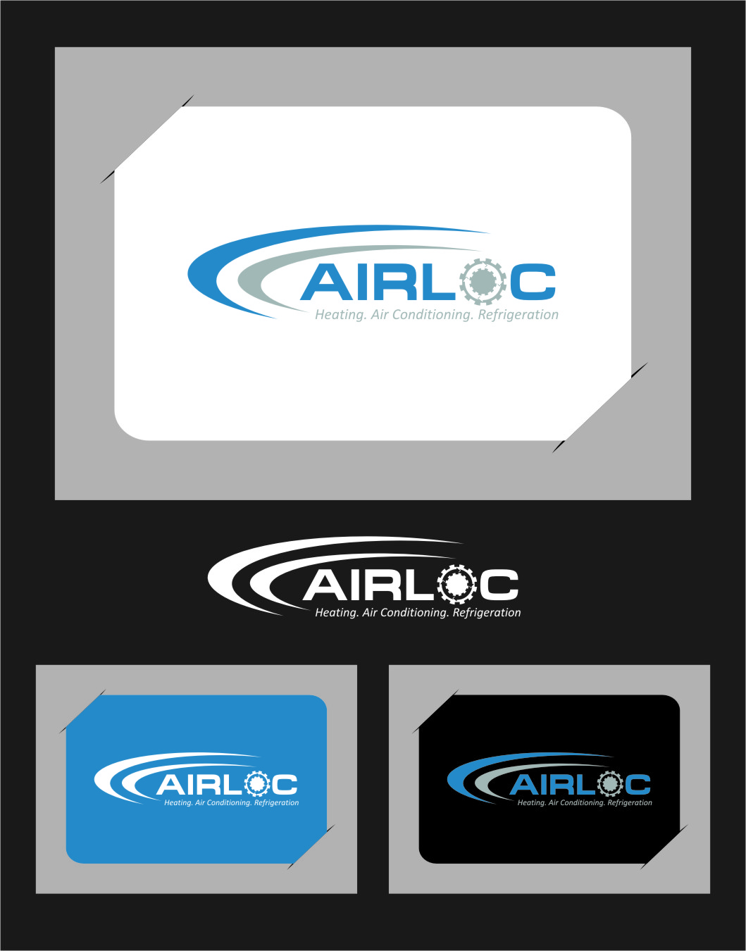 Logo Design by RoSyid Rono-Rene On Java - Entry No. 239 in the Logo Design Contest Airloc Logo Design.
