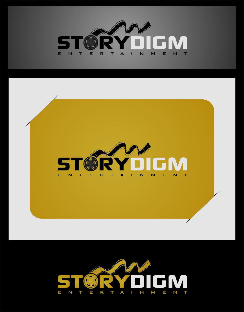 Logo Design by RasYa Muhammad Athaya - Entry No. 50 in the Logo Design Contest Inspiring Logo Design for Storydigm Entertainment.