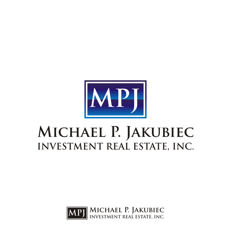 Logo Design by asti - Entry No. 6 in the Logo Design Contest New Logo Design for Michael P. Jakubiec Investment Real Estate, Inc..