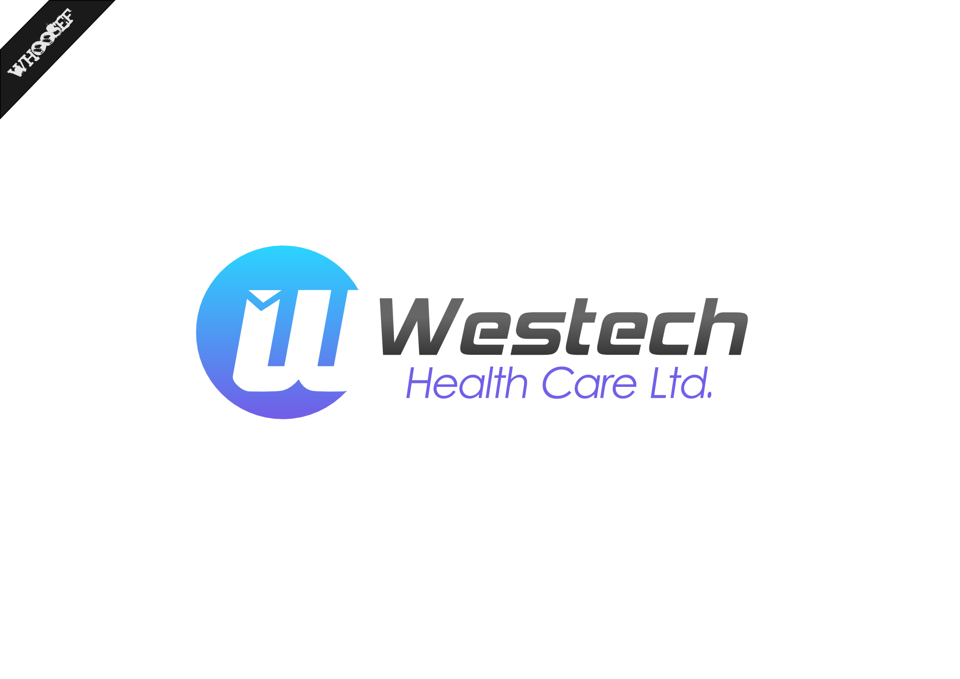 Logo Design by whoosef - Entry No. 123 in the Logo Design Contest Creative Logo Design for Westech Health Care Ltd..