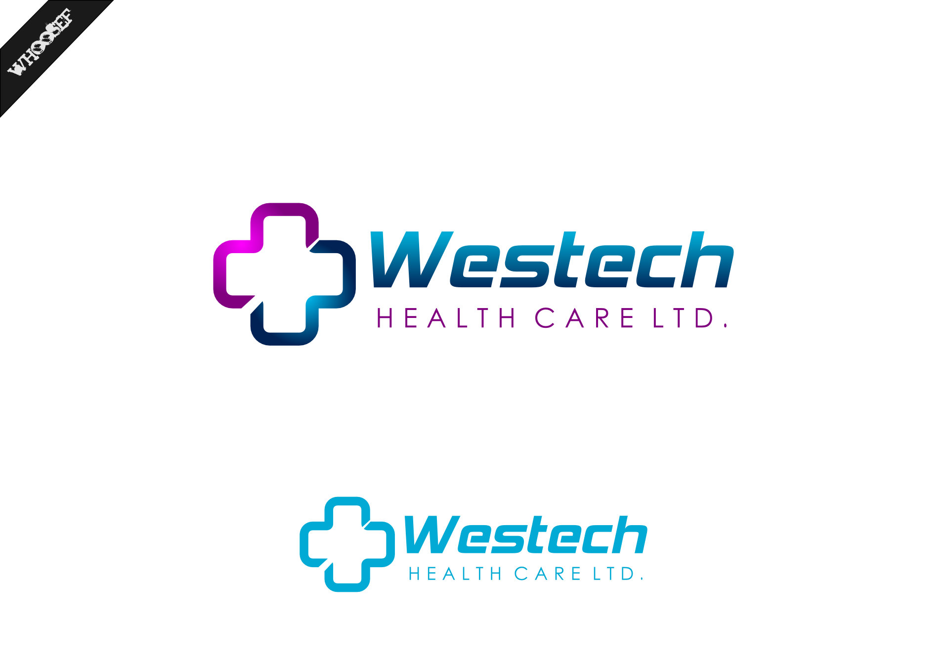 Logo Design by whoosef - Entry No. 124 in the Logo Design Contest Creative Logo Design for Westech Health Care Ltd..