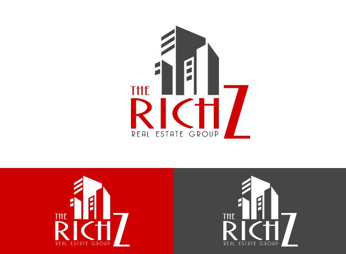 Logo Design by Jan Chua - Entry No. 238 in the Logo Design Contest The Rich Z. Real Estate Group Logo Design.