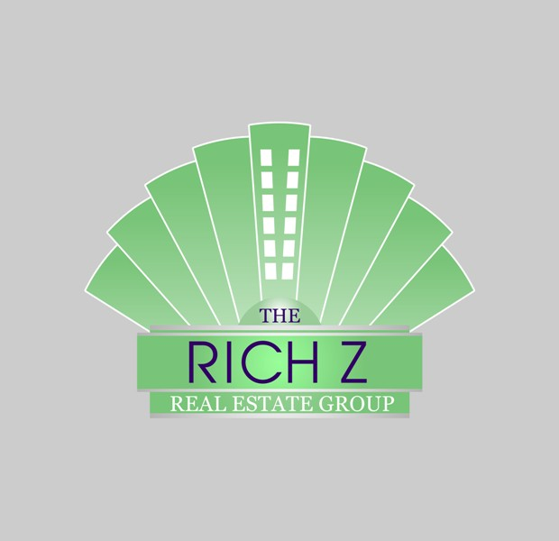 Logo Design by Crispin Jr Vasquez - Entry No. 240 in the Logo Design Contest The Rich Z. Real Estate Group Logo Design.