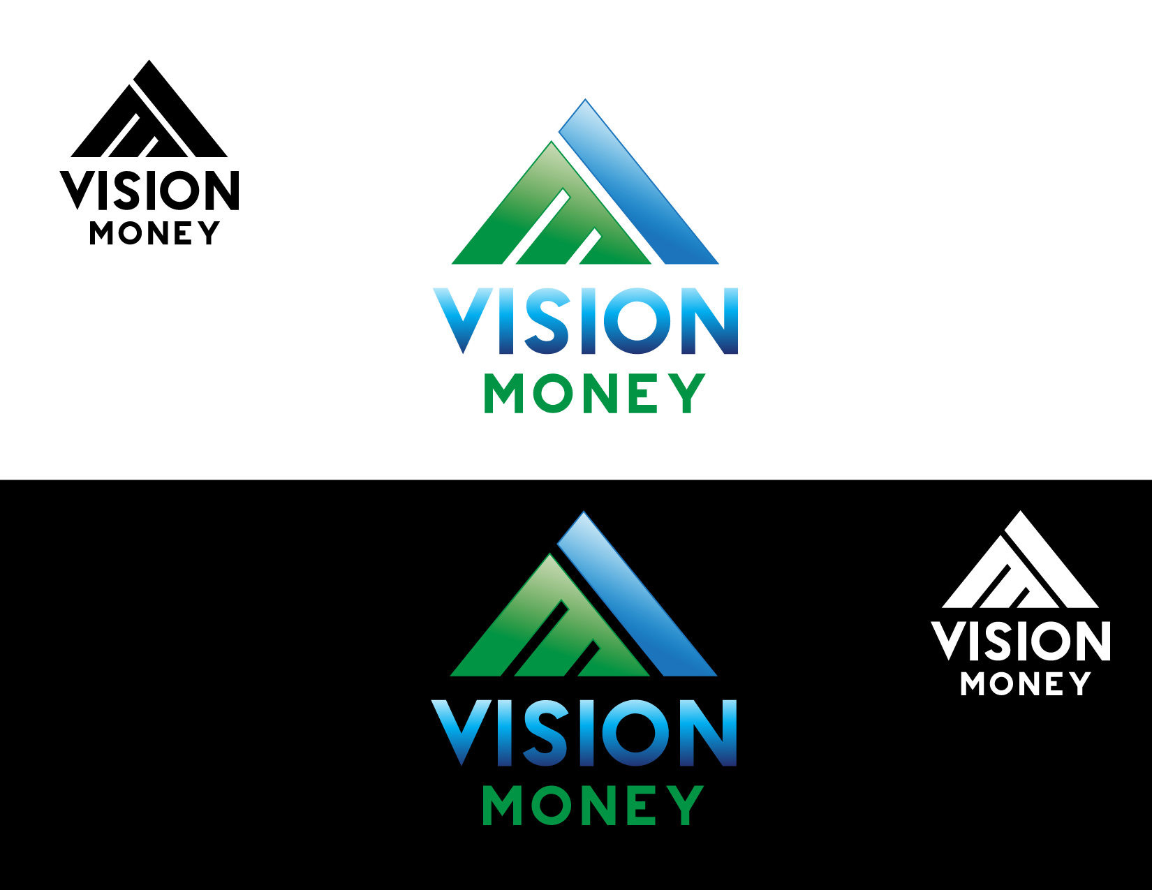Logo Design by Yansen Yansen - Entry No. 71 in the Logo Design Contest Captivating Logo Design for VISION MONEY.