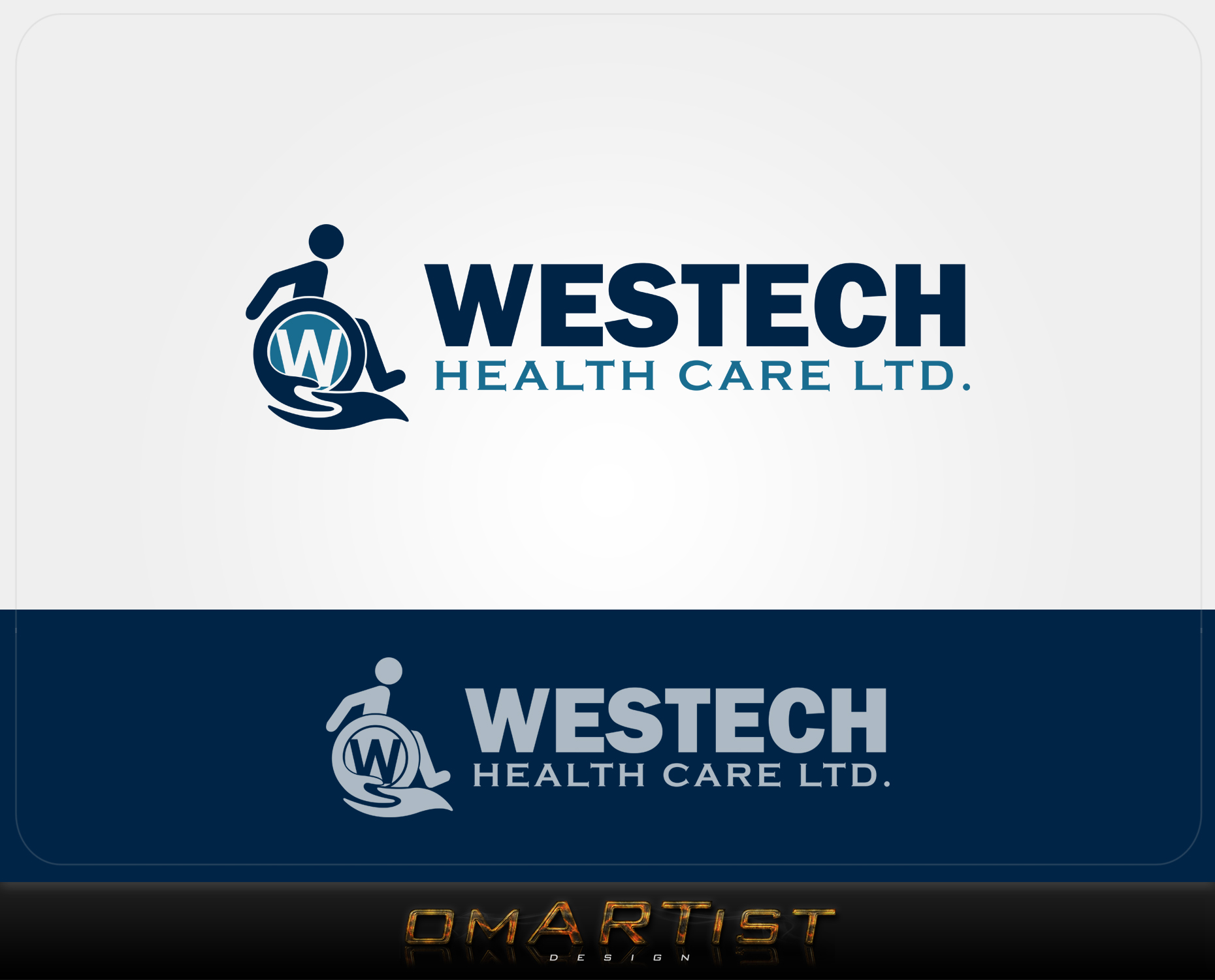 Logo Design by omARTist - Entry No. 130 in the Logo Design Contest Creative Logo Design for Westech Health Care Ltd..