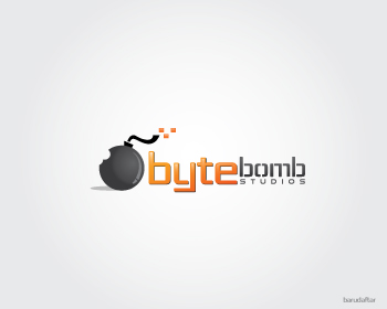 Logo Design by Private User - Entry No. 12 in the Logo Design Contest Captivating Logo Design for ByteBomb Studios.