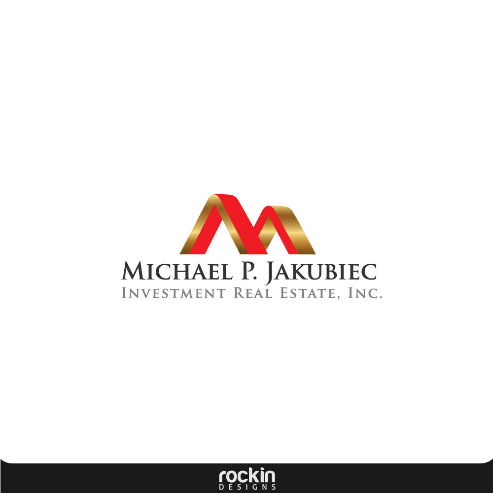 Logo Design by rockin - Entry No. 14 in the Logo Design Contest New Logo Design for Michael P. Jakubiec Investment Real Estate, Inc..