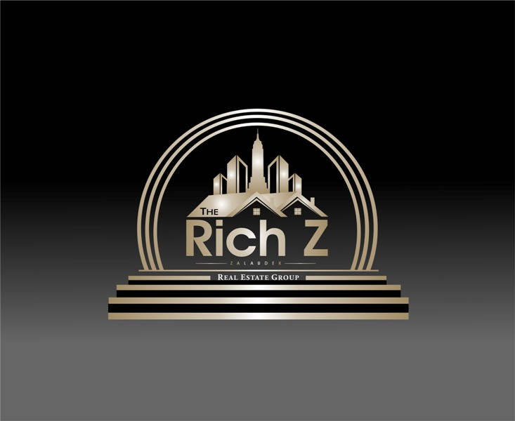 Logo Design by Mhon_Rose - Entry No. 244 in the Logo Design Contest The Rich Z. Real Estate Group Logo Design.
