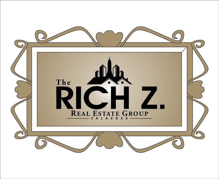 Logo Design by Mhon_Rose - Entry No. 245 in the Logo Design Contest The Rich Z. Real Estate Group Logo Design.