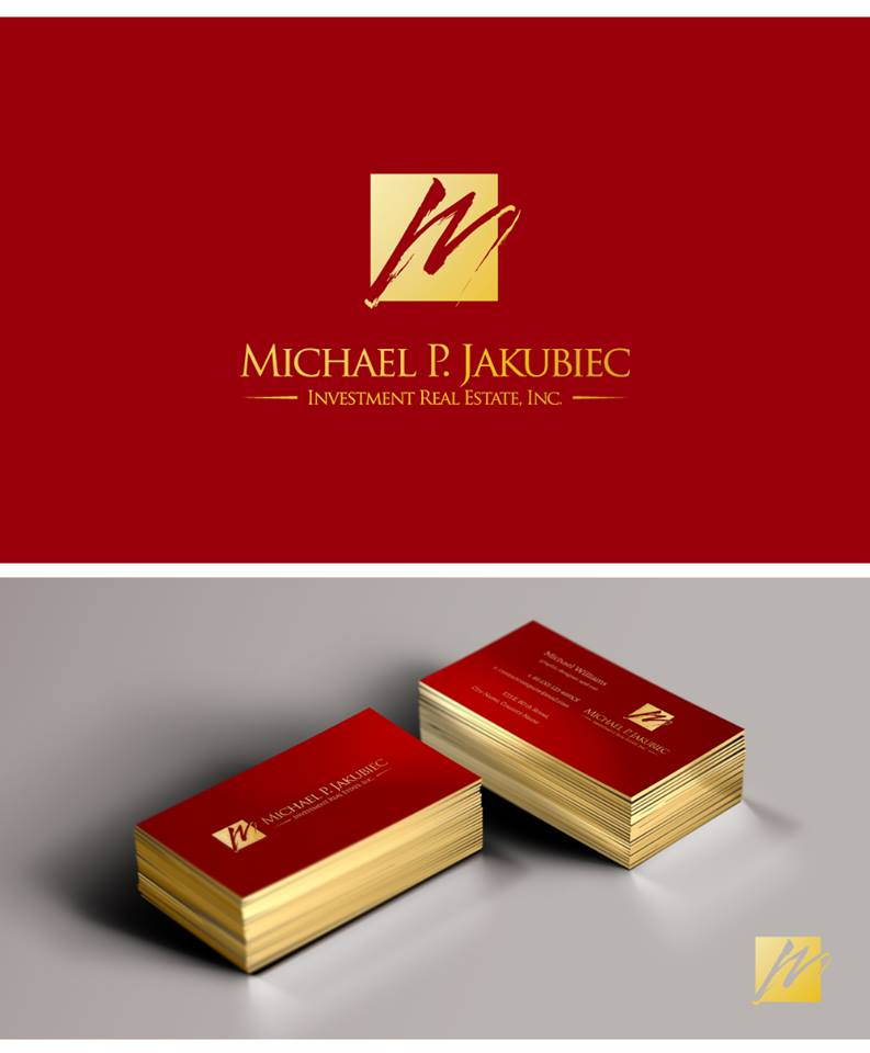 Logo Design by chinie05 - Entry No. 16 in the Logo Design Contest New Logo Design for Michael P. Jakubiec Investment Real Estate, Inc..
