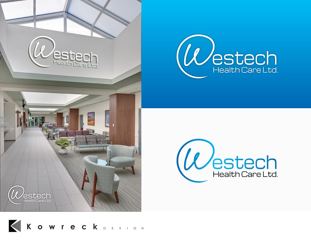Logo Design by kowreck - Entry No. 143 in the Logo Design Contest Creative Logo Design for Westech Health Care Ltd..