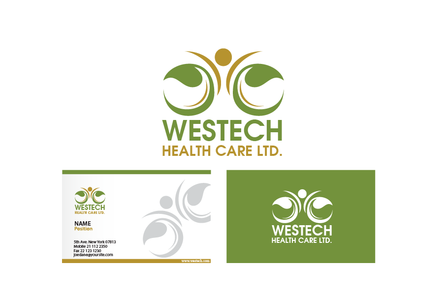 Logo Design by Private User - Entry No. 145 in the Logo Design Contest Creative Logo Design for Westech Health Care Ltd..