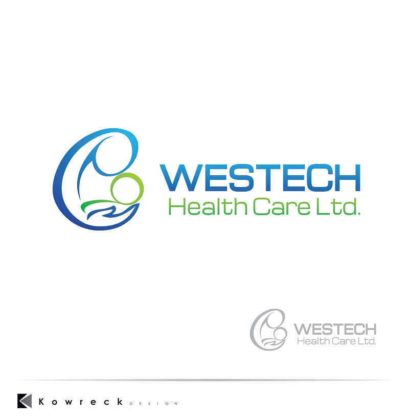 Logo Design by kowreck - Entry No. 149 in the Logo Design Contest Creative Logo Design for Westech Health Care Ltd..