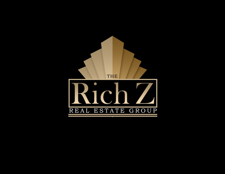 Logo Design by Juan_Kata - Entry No. 246 in the Logo Design Contest The Rich Z. Real Estate Group Logo Design.