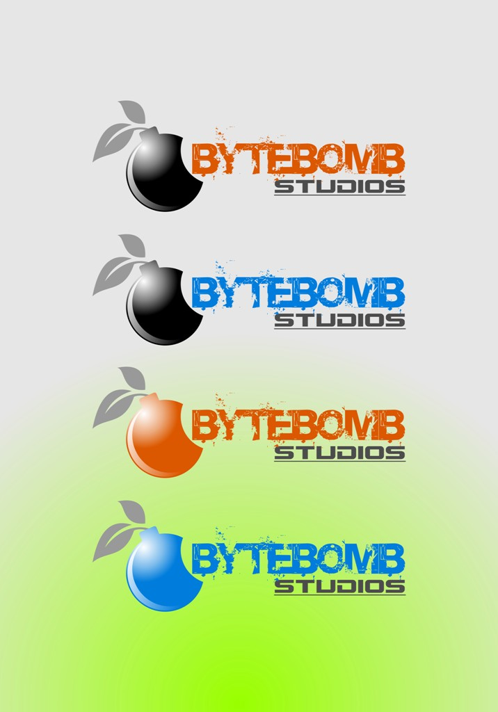 Logo Design by Crispin Jr Vasquez - Entry No. 17 in the Logo Design Contest Captivating Logo Design for ByteBomb Studios.