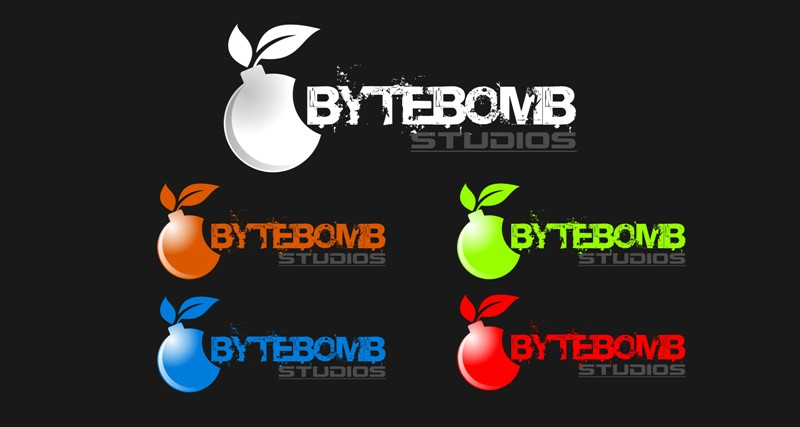 Logo Design by Crispin Jr Vasquez - Entry No. 18 in the Logo Design Contest Captivating Logo Design for ByteBomb Studios.