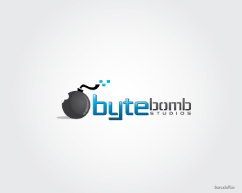 Logo Design by Private User - Entry No. 19 in the Logo Design Contest Captivating Logo Design for ByteBomb Studios.