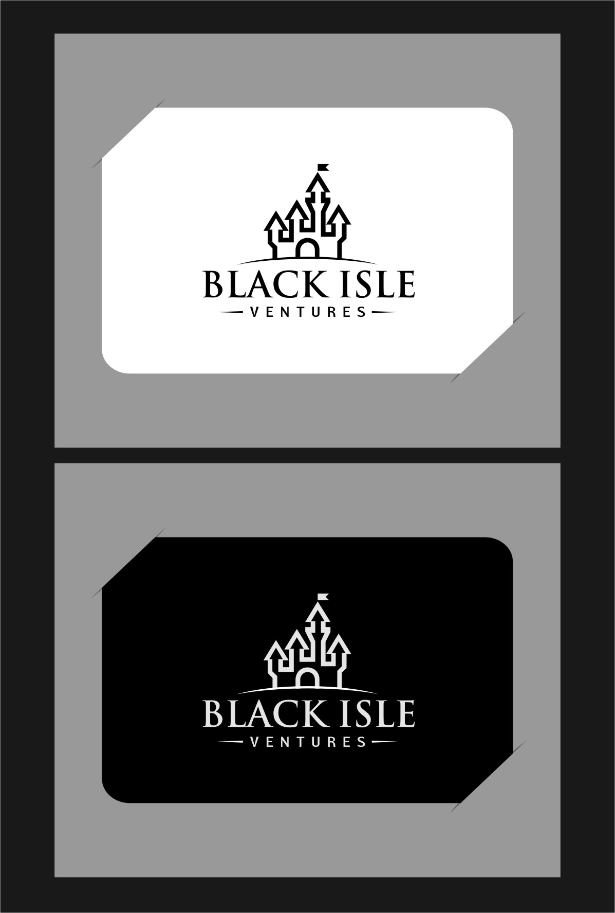 Logo Design by RasYa Muhammad Athaya - Entry No. 38 in the Logo Design Contest Creative Logo Design for Black Isle Ventures.
