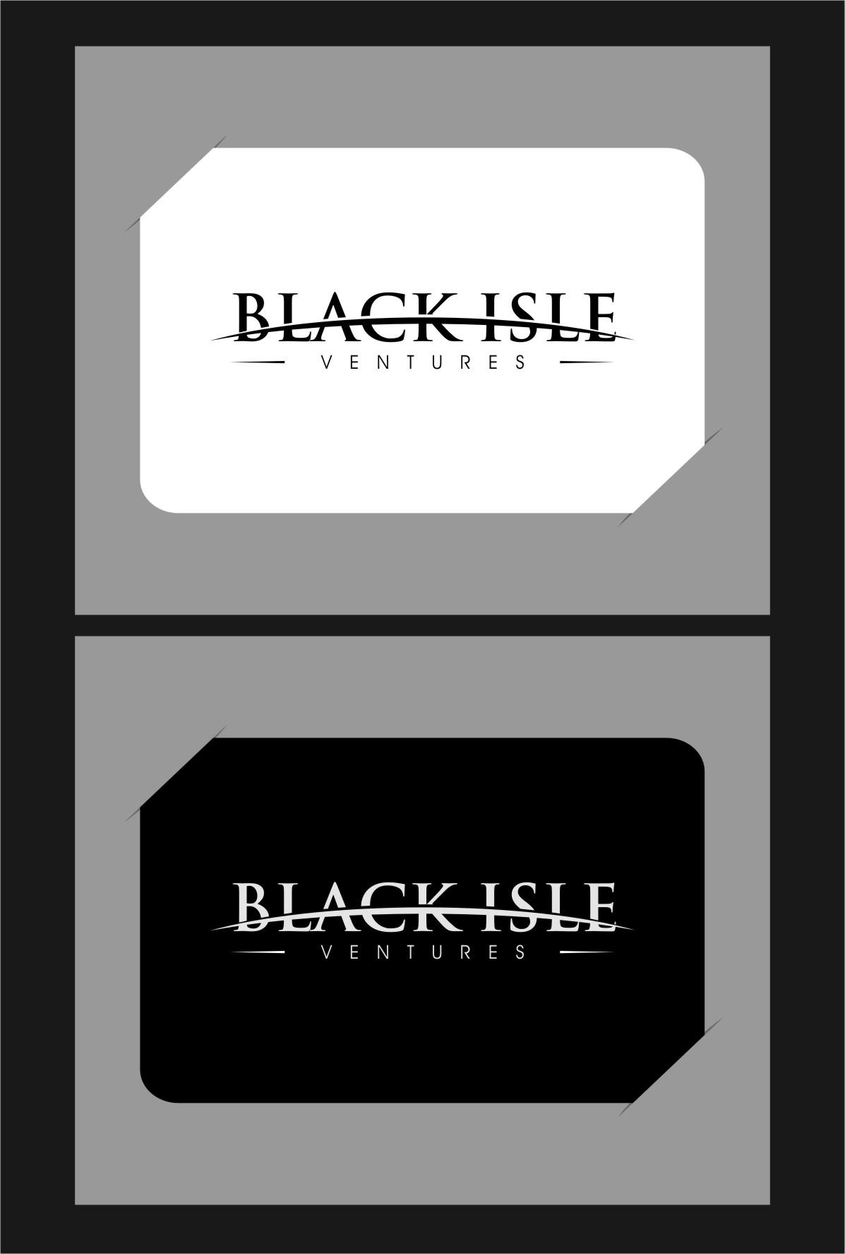 Logo Design by Ngepet_art - Entry No. 39 in the Logo Design Contest Creative Logo Design for Black Isle Ventures.