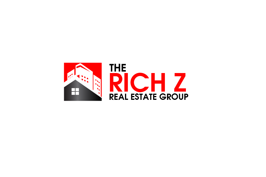Logo Design by brands_in - Entry No. 253 in the Logo Design Contest The Rich Z. Real Estate Group Logo Design.