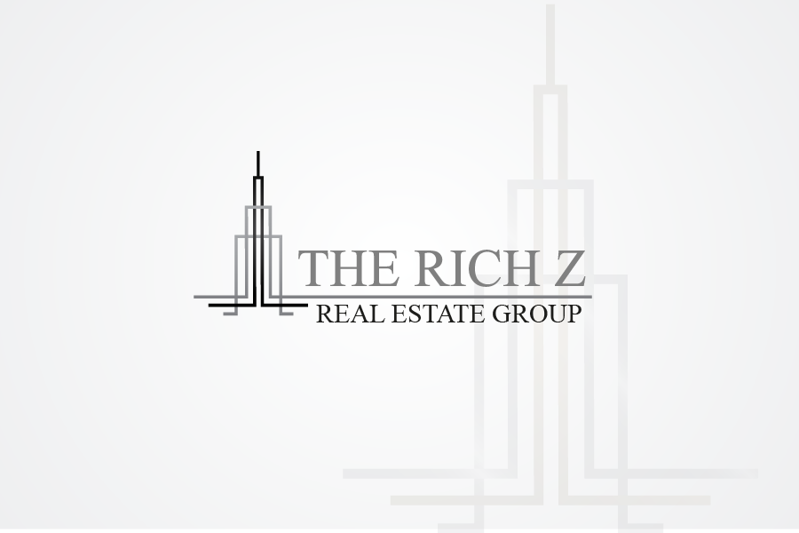 Logo Design by Private User - Entry No. 254 in the Logo Design Contest The Rich Z. Real Estate Group Logo Design.