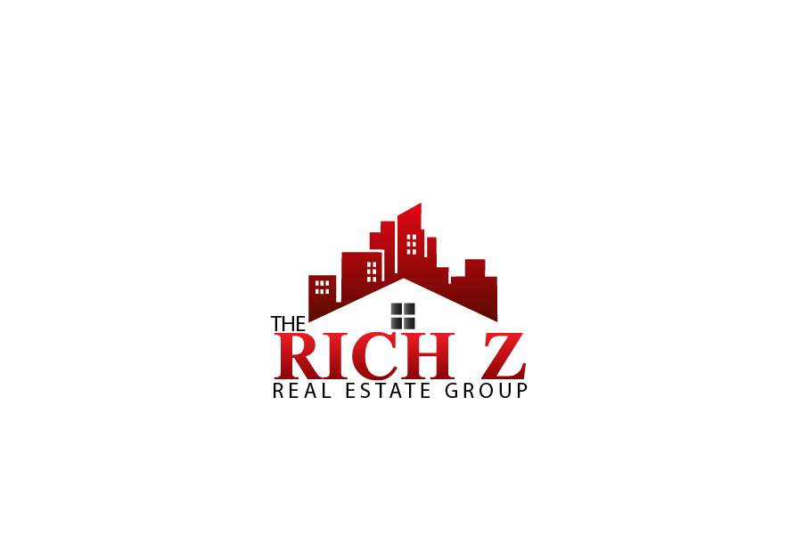 Logo Design by brands_in - Entry No. 256 in the Logo Design Contest The Rich Z. Real Estate Group Logo Design.
