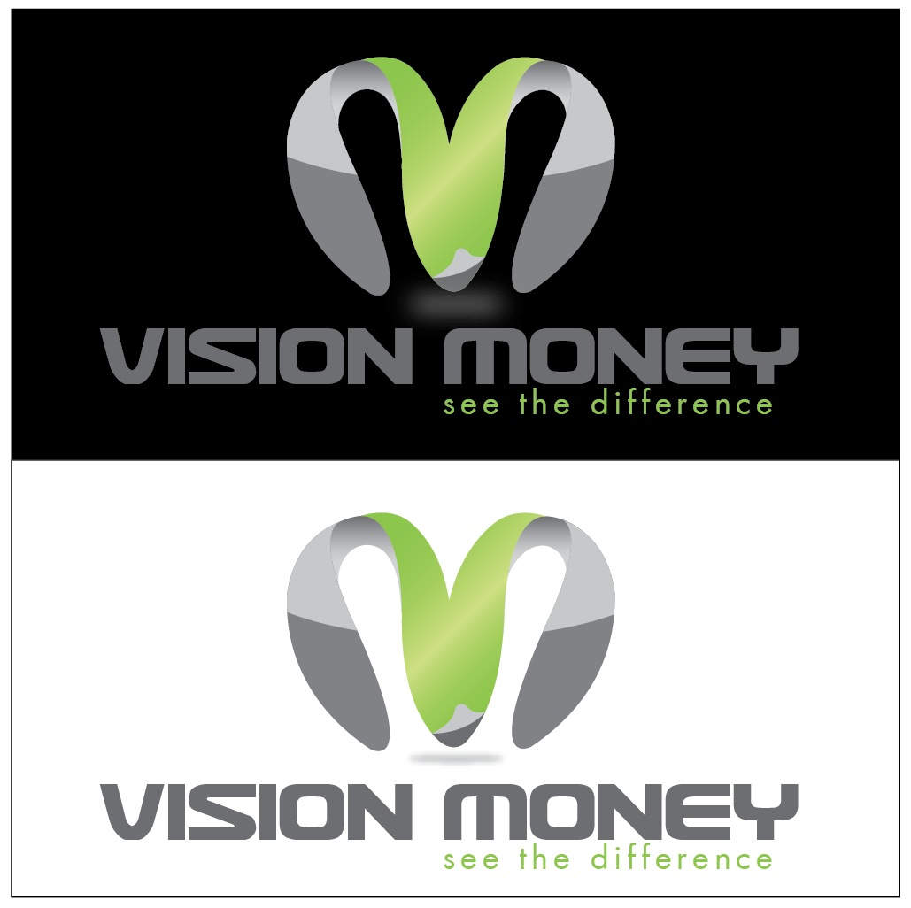 Logo Design by Waseem Haider - Entry No. 77 in the Logo Design Contest Captivating Logo Design for VISION MONEY.