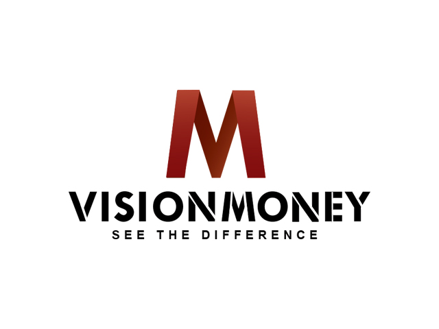 Logo Design by Kyaw Min Khaing - Entry No. 79 in the Logo Design Contest Captivating Logo Design for VISION MONEY.