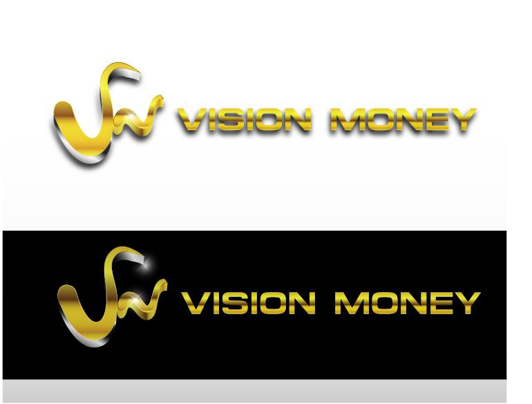 Logo Design by VENTSISLAV KOVACHEV - Entry No. 81 in the Logo Design Contest Captivating Logo Design for VISION MONEY.