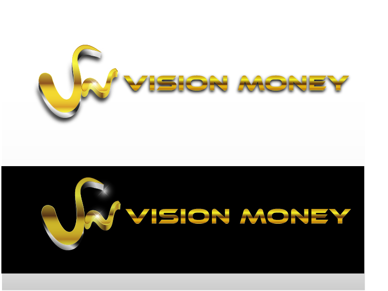 Logo Design by VENTSISLAV KOVACHEV - Entry No. 84 in the Logo Design Contest Captivating Logo Design for VISION MONEY.