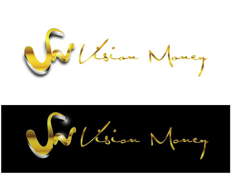 Logo Design by VENTSISLAV KOVACHEV - Entry No. 85 in the Logo Design Contest Captivating Logo Design for VISION MONEY.