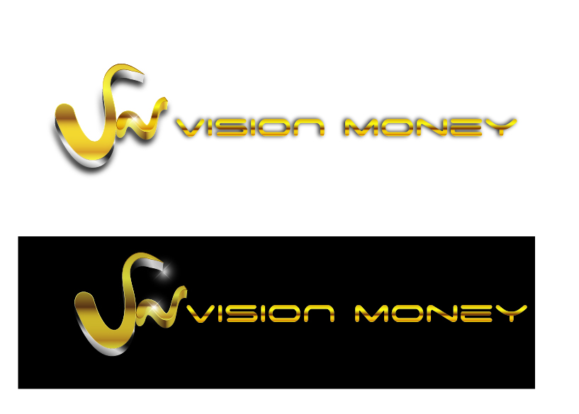 Logo Design by VENTSISLAV KOVACHEV - Entry No. 93 in the Logo Design Contest Captivating Logo Design for VISION MONEY.